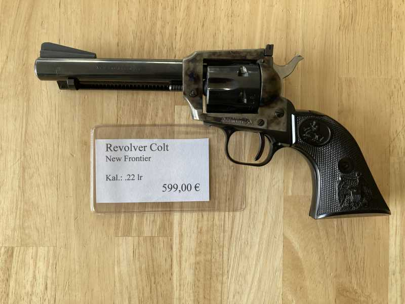 Revolver Colt New Frontier Kal.: .22lr