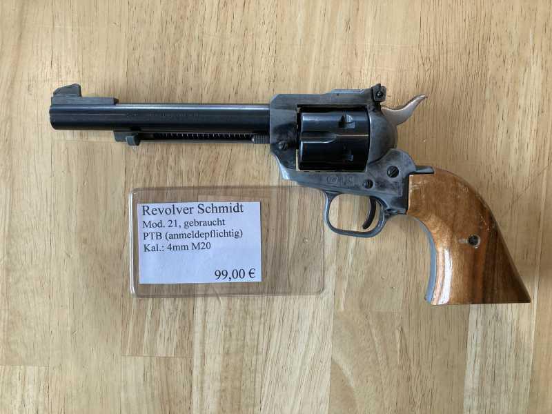 Revolver Schmidt Mod. 21 Kal.: 4mm M20