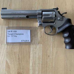 Revolver S&W Target Champion Kal.: .357 Magnum