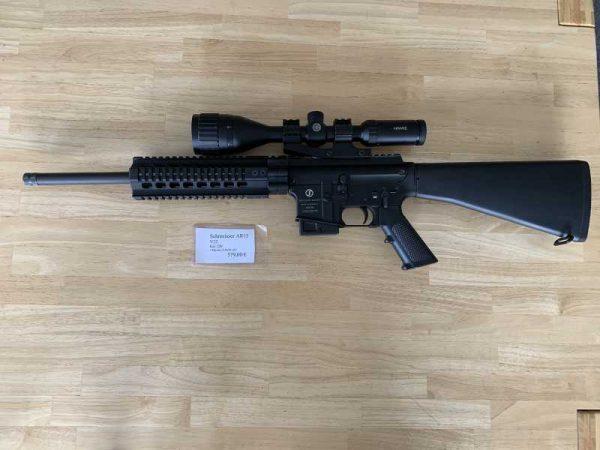 Schmeisser AR15 V22 +Hawk 3-9x50 AO Kal.: .22lr