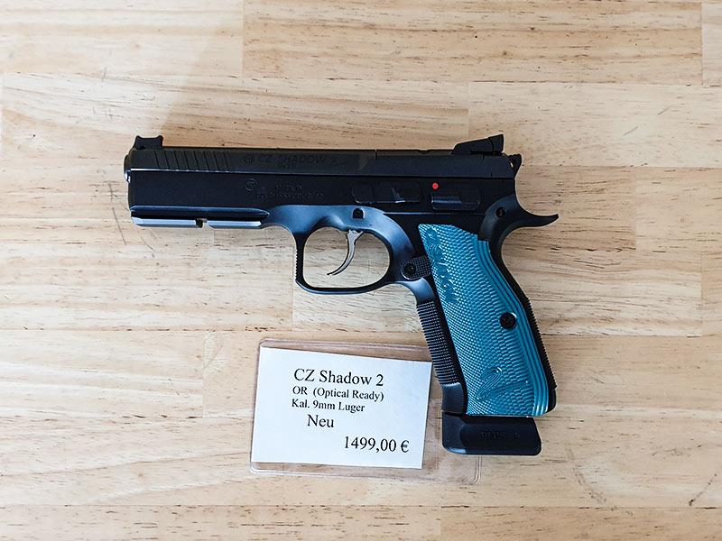 CZ Shadow 2 OR Blue (Optical Ready) 9mm
