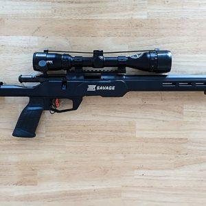 savage b22 precision bolt action